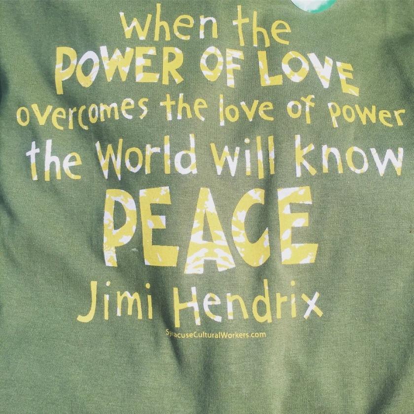 hendrix peace